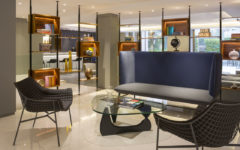 Le Meridien Visconti Rome, la lobby-hub dell'hotel