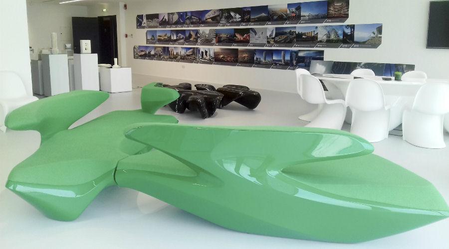 Dubai Design Week - Zaha Hadid Architect's open gallery