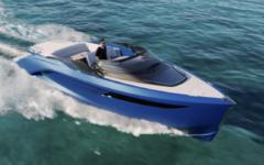 performance sports yacht Classe R di Princess - Pininfarina