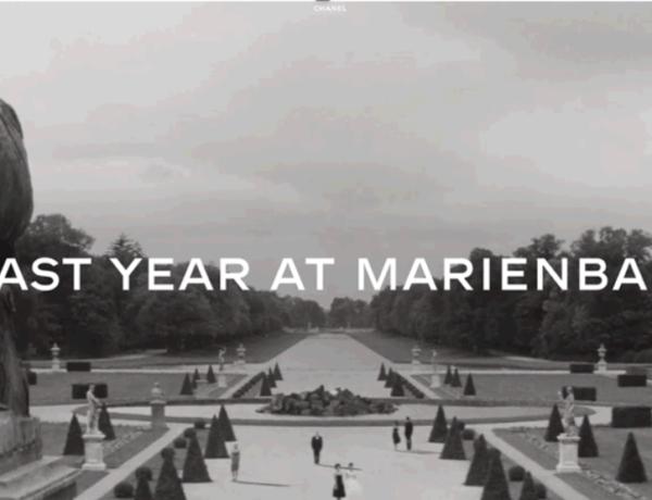 Chanel - L'anno scorso a Marienbad