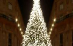 Milano - Digital Christmas Tree - Swarovski
