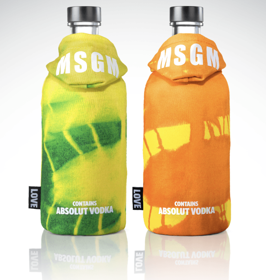 Edizione limitata MSGM – Vodka Absolut