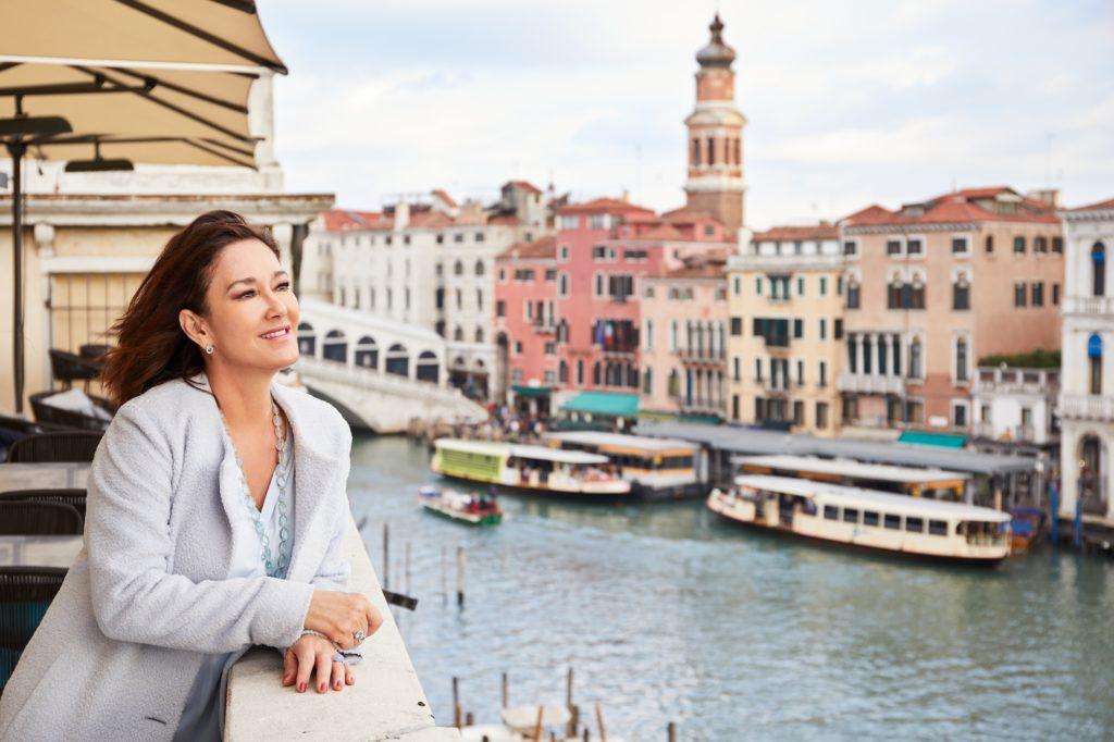 Sophie Guillon in Venice