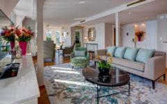 La spettacolare Penthouse Suite del Fairmont Montreux Palace