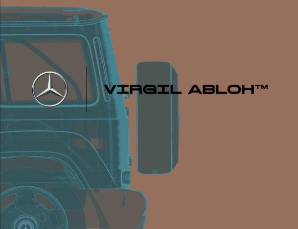 Virgil Abloh collabora con Mercedes-Benz