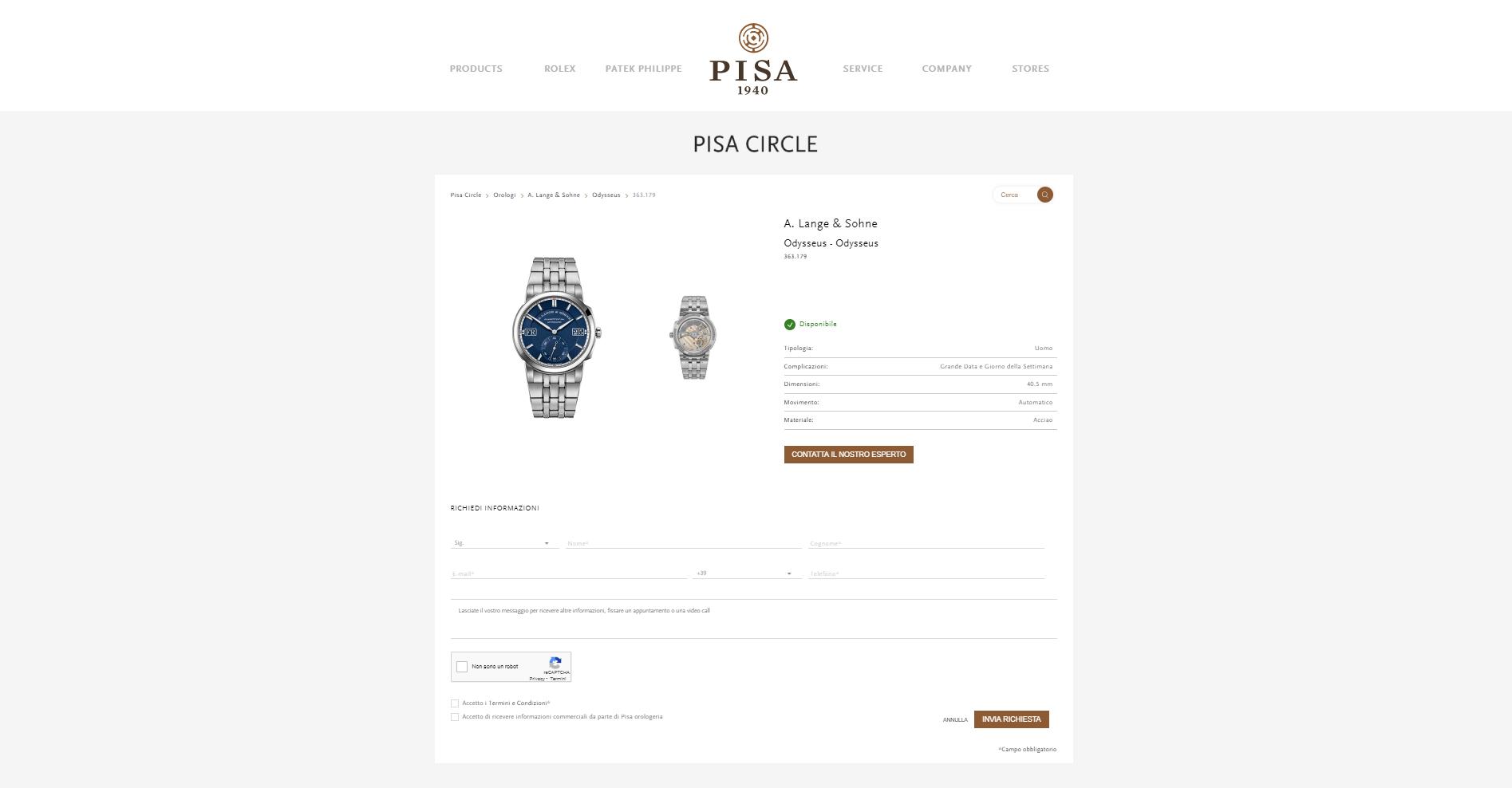 PISA CIRCLE