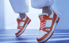 Sneakers virgil abloh – luois vuitton – Neon LV Trainer