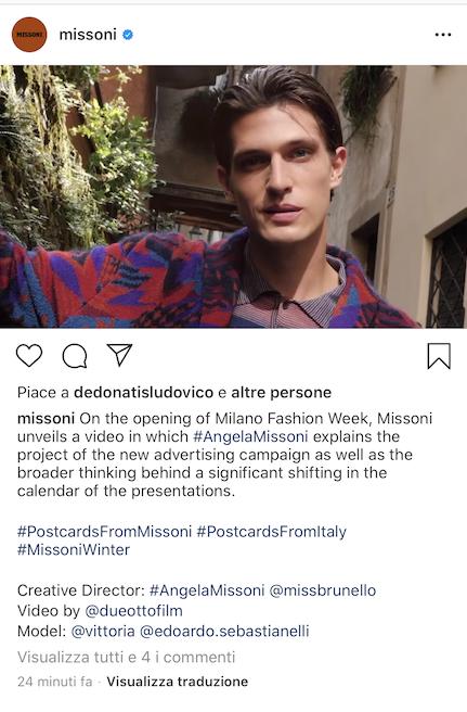 Missoni Milano Fashion Week