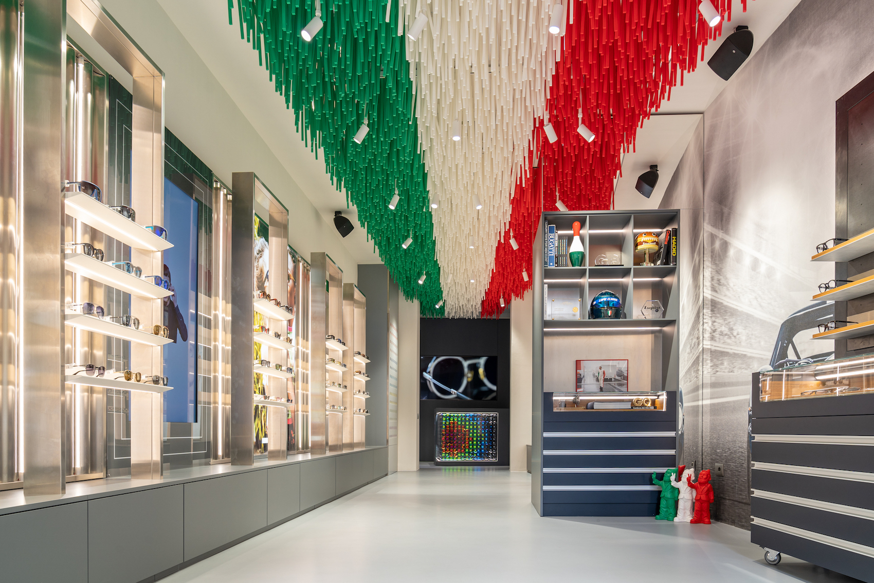Italia Independent Milano - Nuovo flagship store