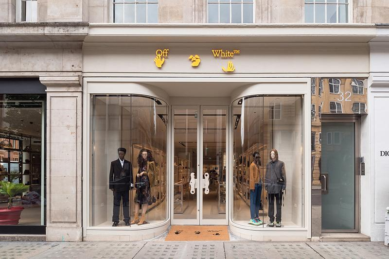 Off-White new flagship store, London