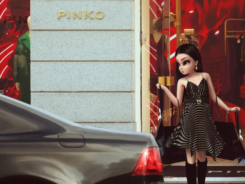 Noonoouri Pinko Concierge
