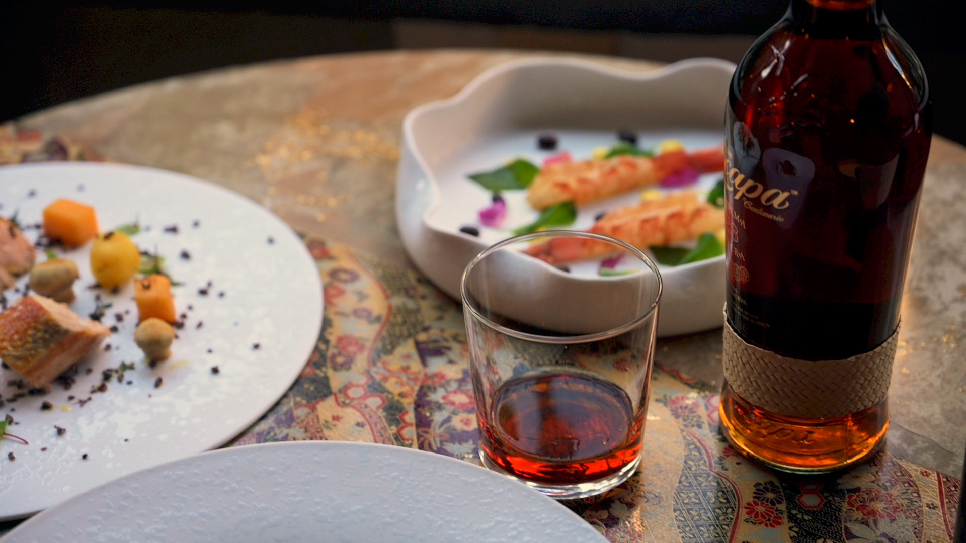 Zacapa Enchanted Dinner - Home delivery