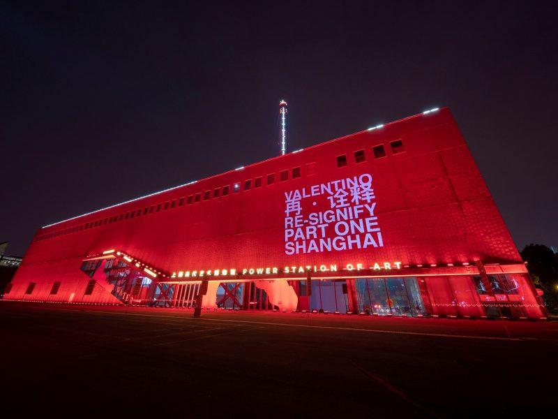 Valentino risignificazione Shanghai