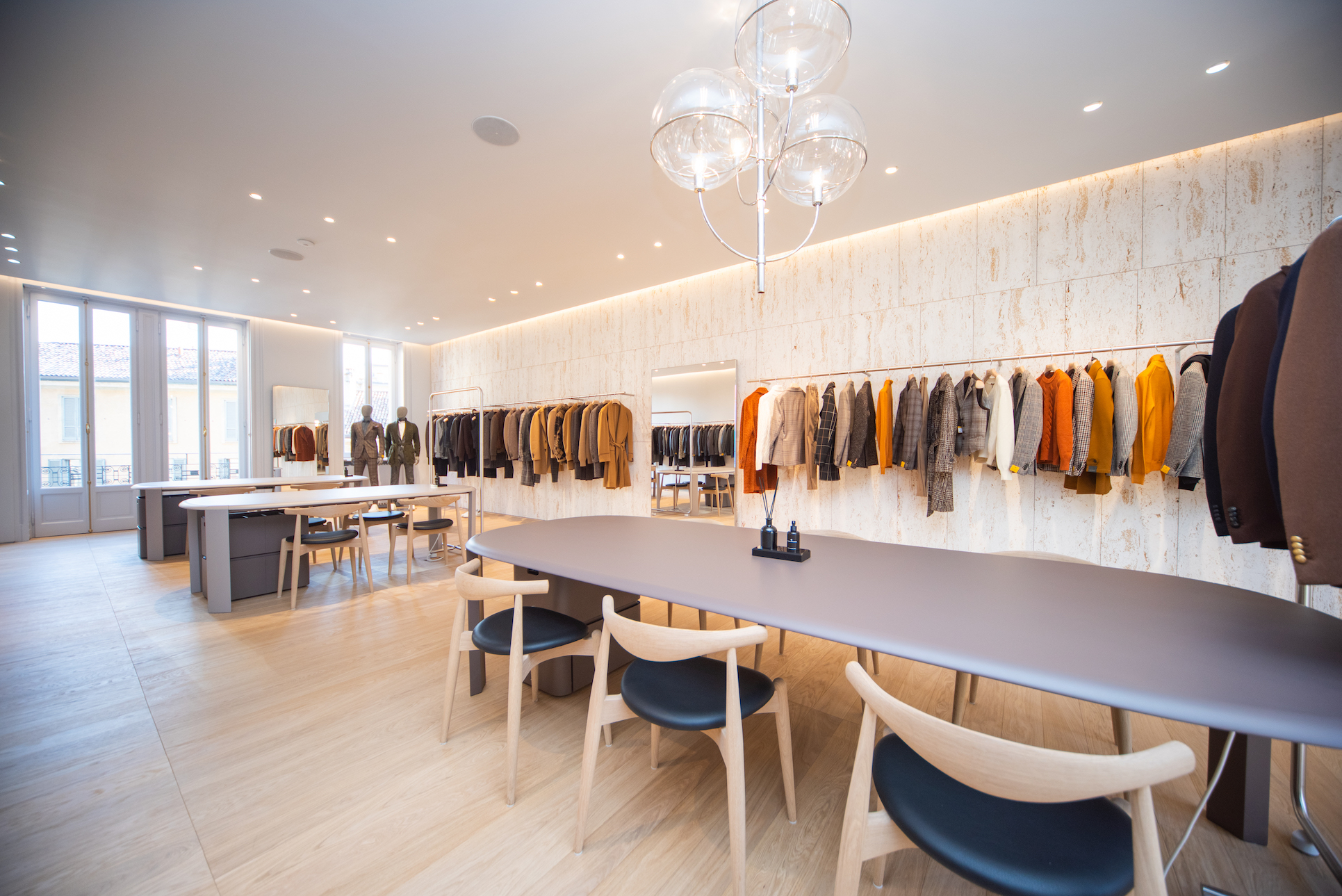 House of Tagliatore showroom Milano