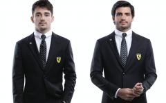 Giorgio Armani - Charles Leclerc - Carlos Sainz - Scuderia Ferrari