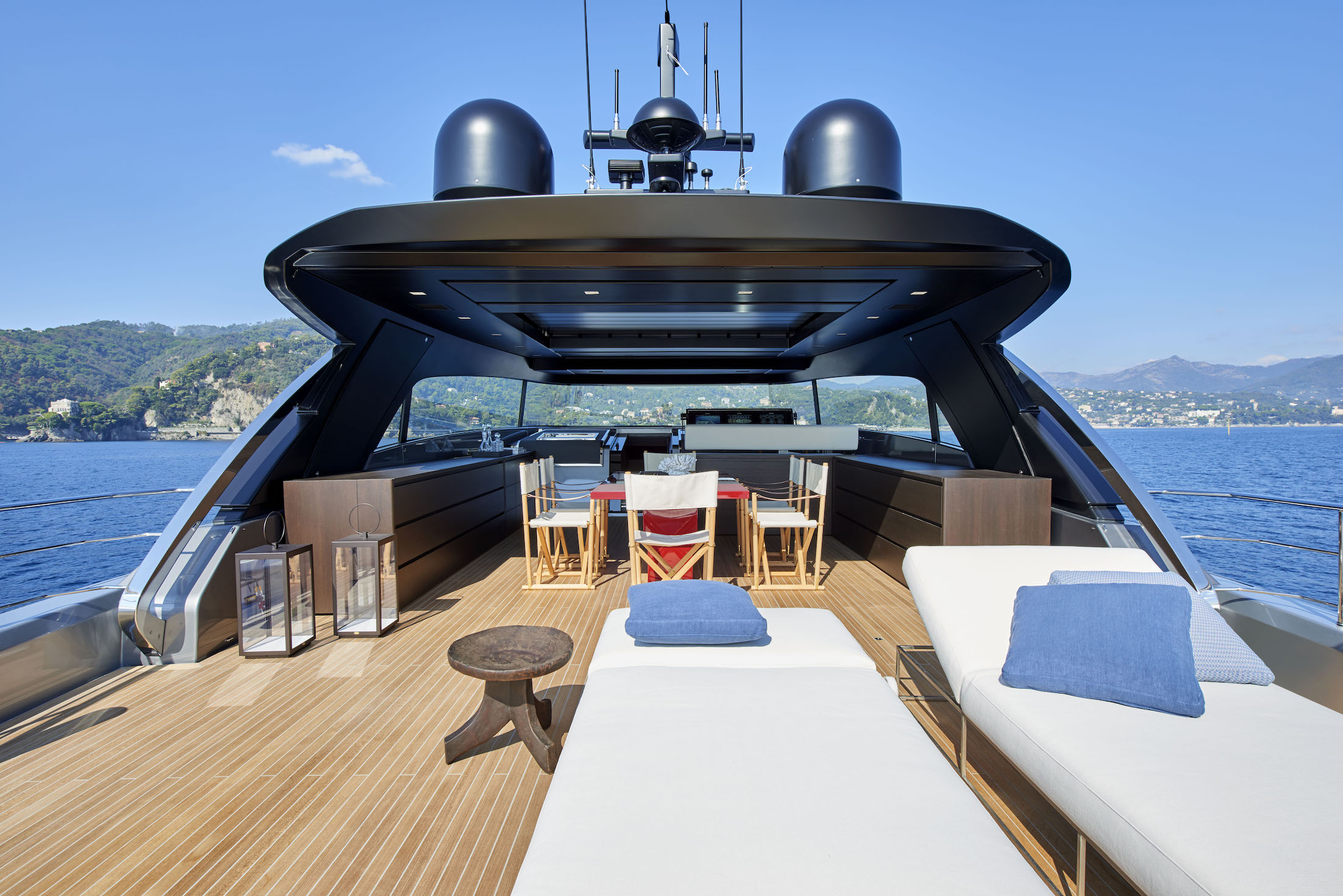 Sanlorenzo Yacht SX88-flying bridge-Photo Leo Torri PH Courtesy Sanlorenzo