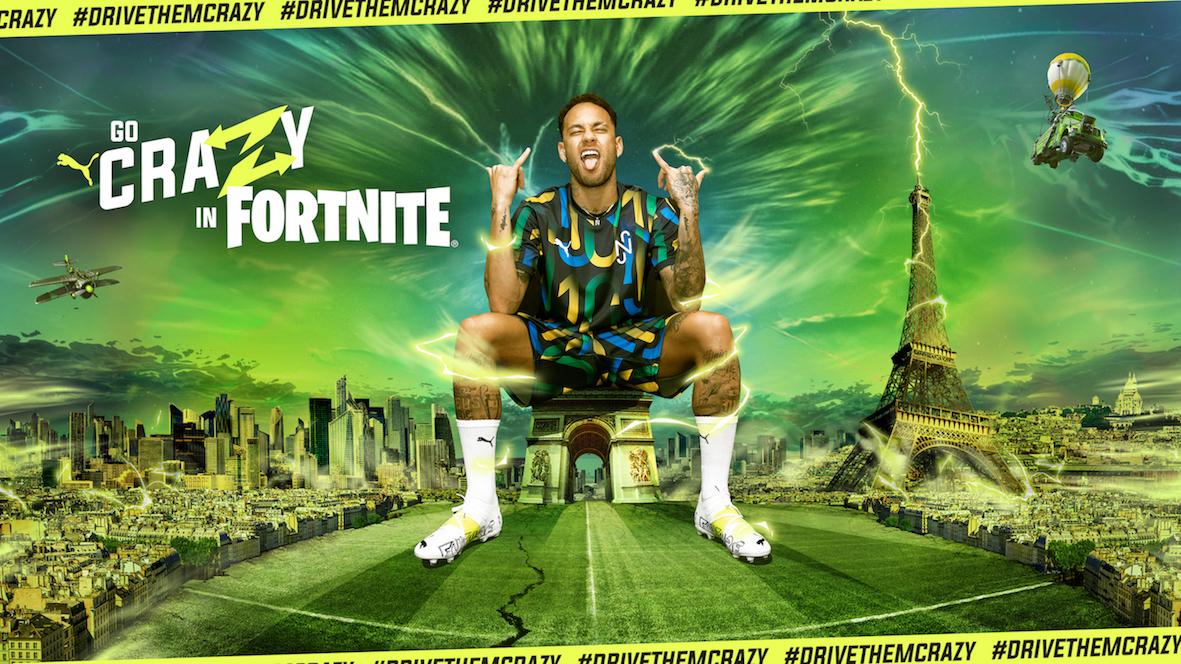 PUMA Football_Neymar Jr._PUMA x Fortnite_Go Crazy Arena_6