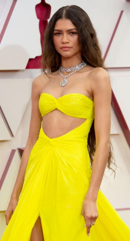 Zendaya in Bvlgari - Academy Awards 2021