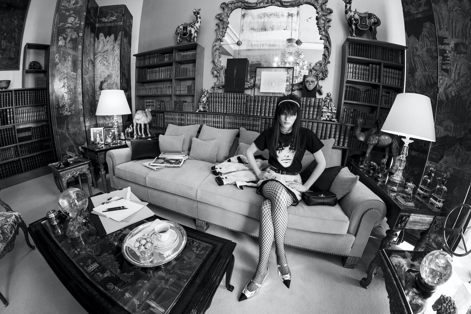 Lola Nicon Chanel Cruise 2021_22 Photographs by Inez and Vinoodh Ph Courtesy Chanel