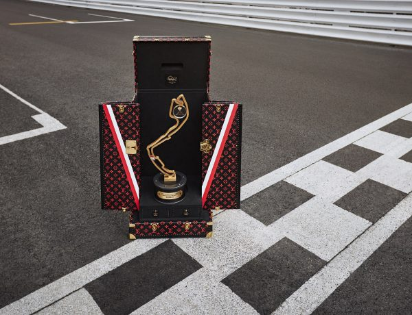 Louis Vuitton - Formula 1 - GRAN PRIX TROPHY TRAVEL CASE - Ph Courtesy Louis Vuitton
