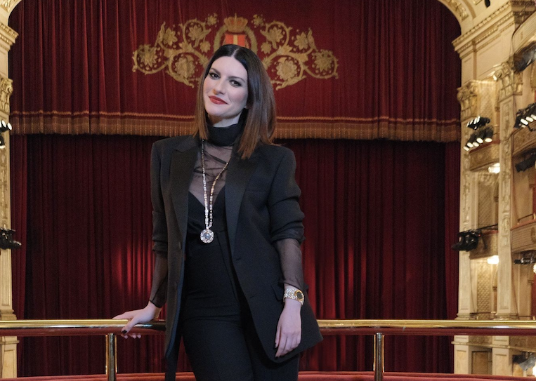 David di Donatello 2021 - Laura Pausini - Ph Courtesy Bvlgari