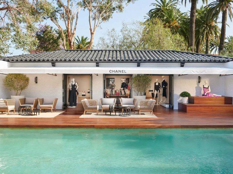 Chanel Saint-Tropez -seasonal boutique 2021 -Pictures by Olivier Saillant