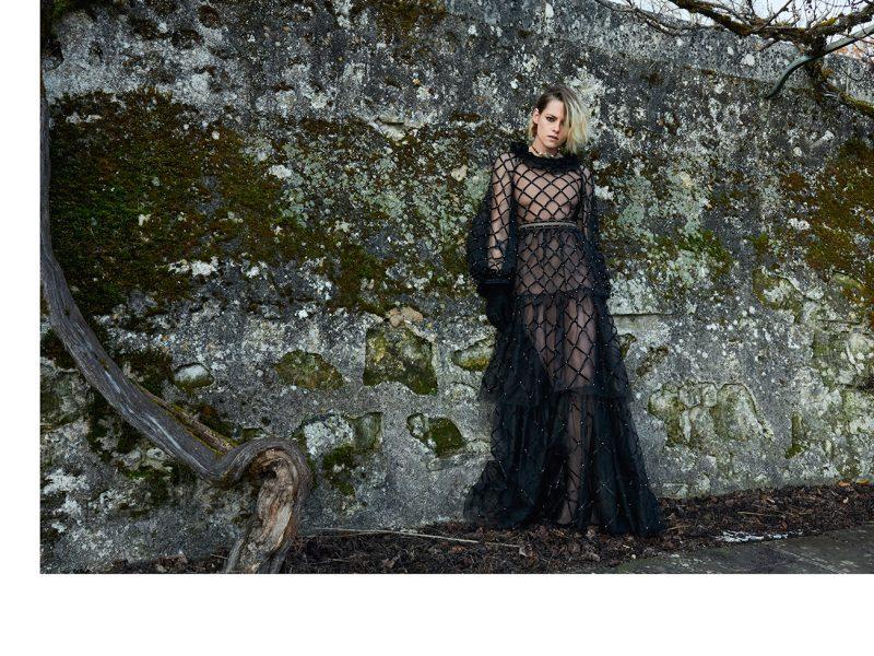 "The Métiers d'art 2020/21 ""Le Château des Dames"" collection campaign with Kristen Stewart photographed by Juergen Teller - Ph Courtesy Chanel"