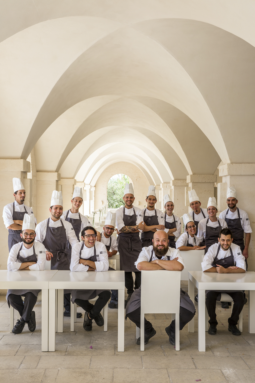 Borgo Egnazia Due Camini Menù Mediterraneo - Brigata Cucina _ Giorgio Baroni - PH Courtesy Borgo Egnazia