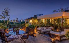 Rooftop Garden Bvlgari Suite - Bvlgari Hotel Milano - Ph Courtesy Bvlgari