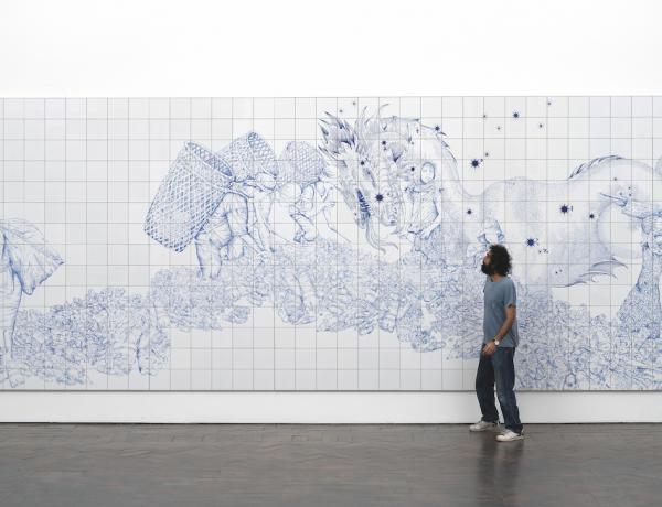 Pietro Ruffo Tidal wave 2 2020 Galleria Lorcan O Neill foto Giorgio Benni.jpg