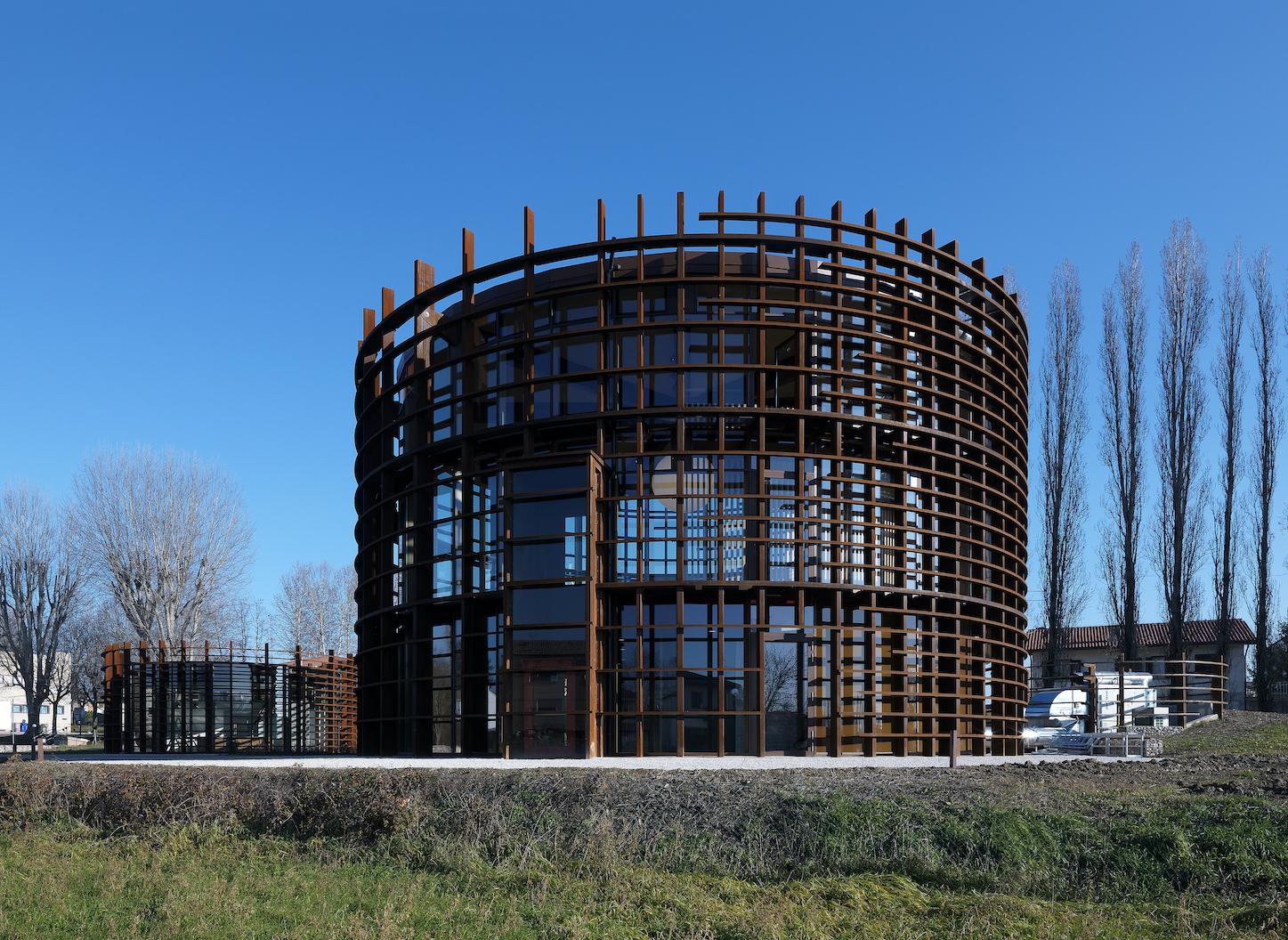 Mario Cucinella Architects, Centro Polifunzionale di Arte e Cultura, Bondeno, 2017, Photo By Daniele Domenicali