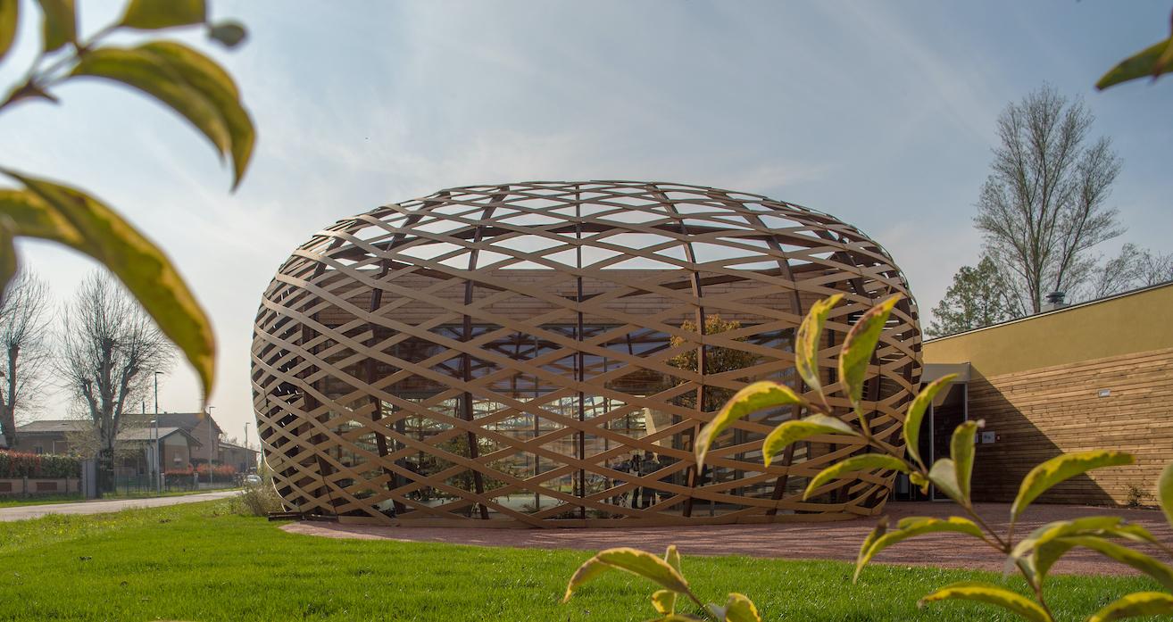 Mario Cucinella Architects, Scuola di Danza, Reggiolo, 2018, Photo by Bellipario Geraldina